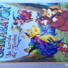 Libros de segunda mano: EL DRAGÓN SAKASAVON-LA HERIDA DE TIMBAL-LIBRO NUEVO. Lote 141848890