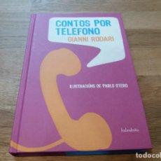 Libros de segunda mano: CONTOS POR TELÉFONO. GIANNI RODARI. KALANDRAKA. GALLEGO. . Lote 142132586