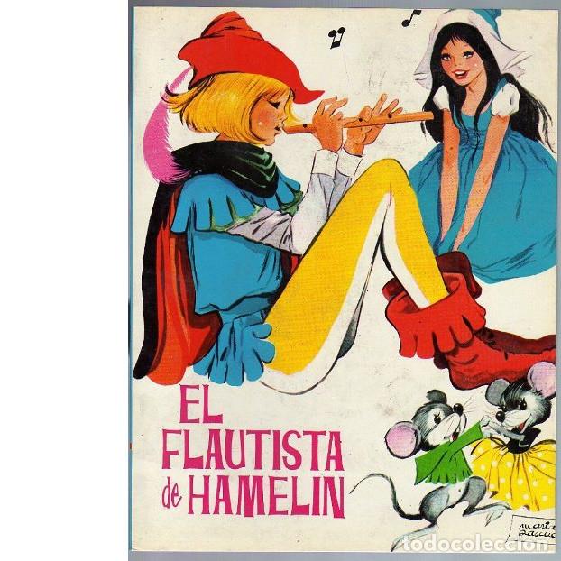 EL FLAUTISTA DE HAMELIN / EL PÁJARO DE ORO. (MARÍA PASCUAL) (Libros de Segunda Mano - Literatura Infantil y Juvenil - Cuentos)