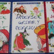 Libros de segunda mano - Cuentos de siempre - Andersen, Grimm y Perrault - Servilibro - 114952291