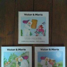 Libros de segunda mano: 3 CUENTOS EN INGLÉS - VICTOR & MARIA. 1983. SIN ESTRENAR. Lote 142373445