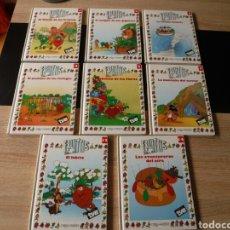Libros de segunda mano: LOTE 8 LIBROS LOS FRUITTIS. Lote 142419518
