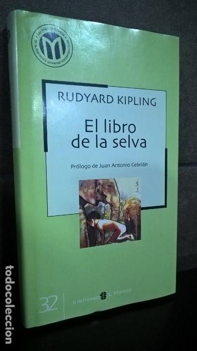 EL LIBRO DE LA SELVA. RUDYARD KIPLING. BIBLIOTECA EL MUNDO 32. (Libros de Segunda Mano - Literatura Infantil y Juvenil - Cuentos)