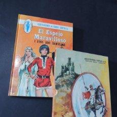 Libros de segunda mano: EL ESPEJO MARAVILLOSO Y OTROS 8 CUENTOS MAS / ILUSTRA - RAFAEL CORTIELLA / TORAY 1975 / CON FUNDA /. Lote 142812450
