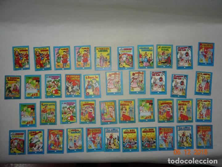 LOTE 41 CUENTOS GRAN COLECCIÓN BLANCANIEVES - TESORO DE CUENTOS EDIT BRUGUERA PUBLICIDAD FINISTERRE (Libros de Segunda Mano - Literatura Infantil y Juvenil - Cuentos)