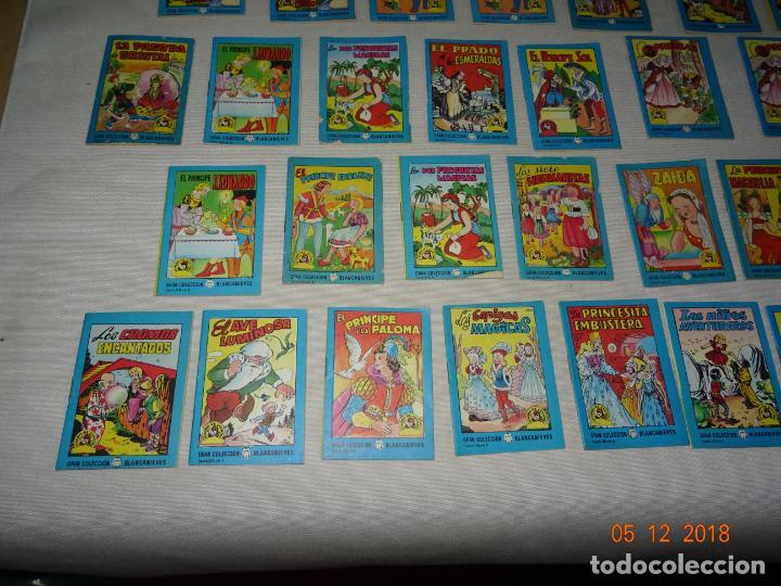 Libros de segunda mano: Lote 41 Cuentos GRAN COLECCIÓN BLANCANIEVES - TESORO DE CUENTOS Edit BRUGUERA Publicidad FINISTERRE - Foto 2 - 142821890