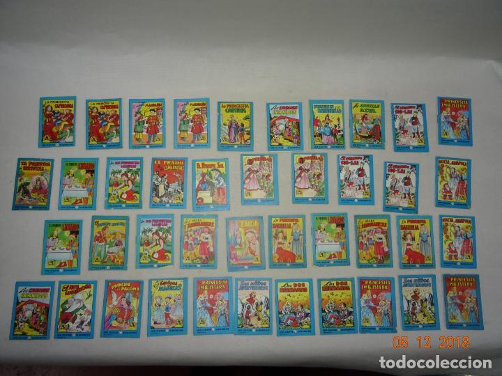 Libros de segunda mano: Lote 41 Cuentos GRAN COLECCIÓN BLANCANIEVES - TESORO DE CUENTOS Edit BRUGUERA Publicidad FINISTERRE - Foto 3 - 142821890