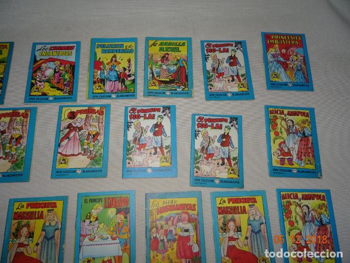 Libros de segunda mano: Lote 41 Cuentos GRAN COLECCIÓN BLANCANIEVES - TESORO DE CUENTOS Edit BRUGUERA Publicidad FINISTERRE - Foto 4 - 142821890