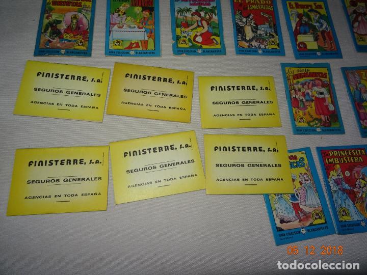 Libros de segunda mano: Lote 41 Cuentos GRAN COLECCIÓN BLANCANIEVES - TESORO DE CUENTOS Edit BRUGUERA Publicidad FINISTERRE - Foto 6 - 142821890