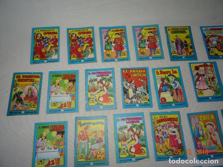 Libros de segunda mano: Lote 41 Cuentos GRAN COLECCIÓN BLANCANIEVES - TESORO DE CUENTOS Edit BRUGUERA Publicidad FINISTERRE - Foto 7 - 142821890
