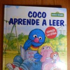 Libros de segunda mano: LIBRO - INFANTIL - COCO EMPIEZA A LEER - CONOCER LAS LETRAS. Lote 142835010