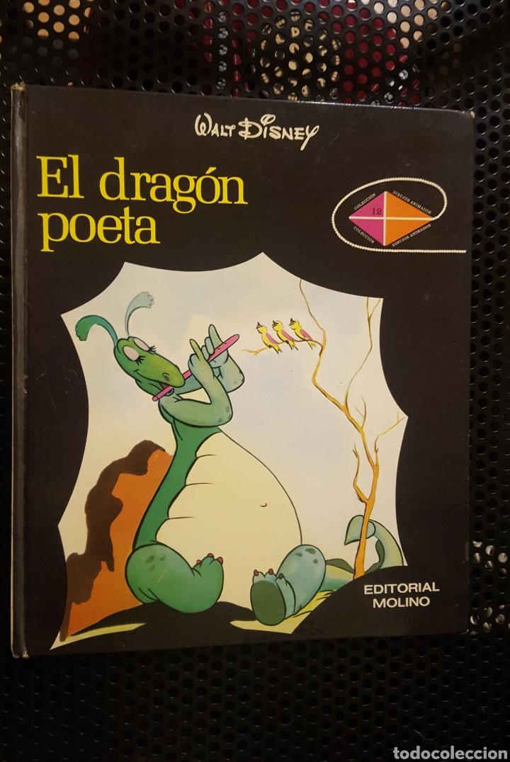 WALT DISNEY - EL DRAGÓN POETA - ED. MOLINO - 1973 - TAPA DURA EN BUEN ESTADO, VER FOTOS (Libros de Segunda Mano - Literatura Infantil y Juvenil - Cuentos)