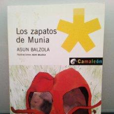 Libros de segunda mano: LOS ZAPATOS DE MUNIA - ASUN BALZOLA - PLANETA OXFORD (ENVÍO 2,40€). Lote 142924738