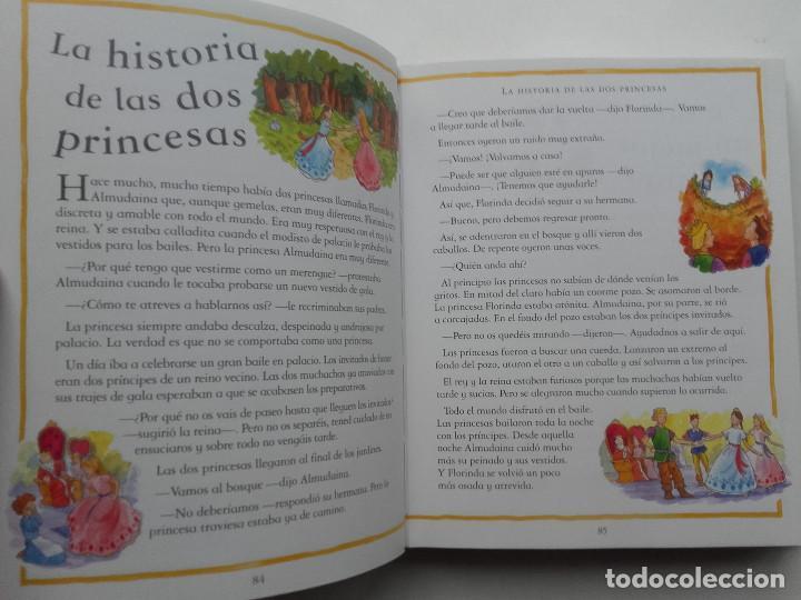 Libros de segunda mano: 365 CUENTOS Y RIMAS PARA NIÑAS - ED. PARRAGON - 2005 - Foto 6 - 143055210
