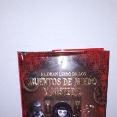 Libros de segunda mano: EL GRAN LIBRO DE LOS CUENTOS DE MIEDO Y MISTERIO.. Lote 143153290