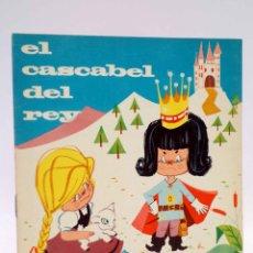 Libros de segunda mano: CUENTOS TORNASOL 5. EL CASCABEL DEL REY (E. SOTILLOS / SERRET) TORAY, 1961. Lote 143174968