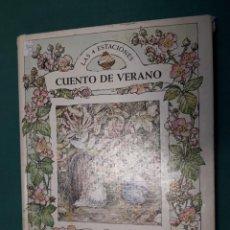 Libros de segunda mano: LAS 4 ESTACIONES, CUENTO DE VERANO, 2, JILL BARKLEM, BRUGUERA. Lote 143269702