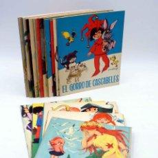 Libros de segunda mano: CUENTOS AZULES 1 A 24. COLECCIÓN COMPLETA (EUGENIO SOTILLOS / MARÍA PASCUAL) TORAY, 1963. Lote 207550507