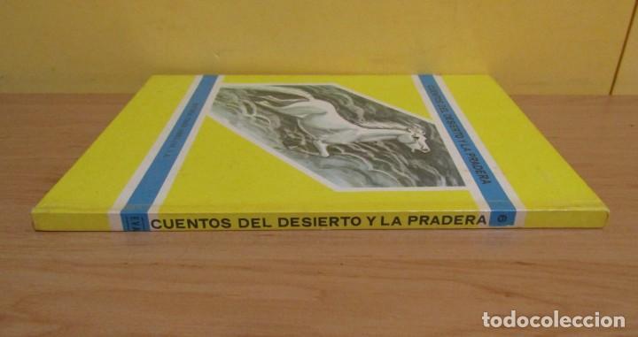 Libros de segunda mano: EL MISTERIO DE LAS ESPADAÑAS -CUENTOS DEL DESIERTO Y LA PRADERA-Nº 6 ED. VASCO-AMERICANA AÑO 1970 - Foto 3 - 143552350