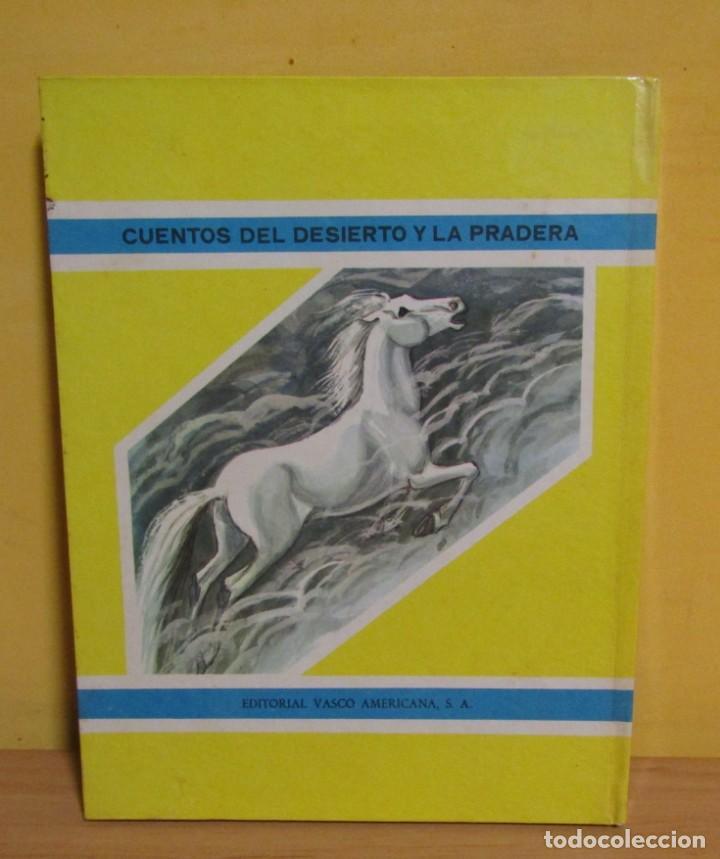 Libros de segunda mano: EL MISTERIO DE LAS ESPADAÑAS -CUENTOS DEL DESIERTO Y LA PRADERA-Nº 6 ED. VASCO-AMERICANA AÑO 1970 - Foto 5 - 143552350