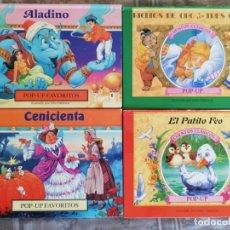 Libros de segunda mano: CUENTO - INFANTIL - DESPLEGABLE - POP-UP FAVORITOS - ALADINO - ILUSTRA JOHN PATIENCE. Lote 143728022