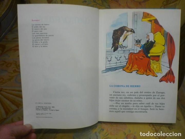 Libros de segunda mano: CUENTOS AZULES. TOMO 1. ILUSTRADO POR MARÍA PASCUAL. TORAY 1.982. - Foto 5 - 143779322