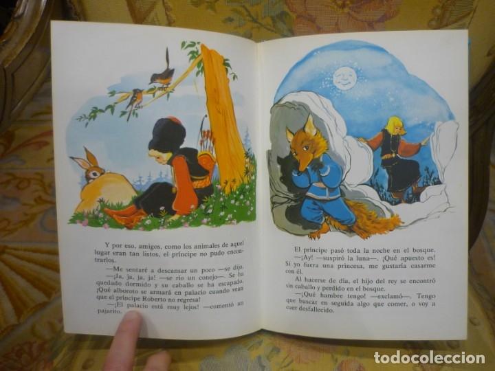 Libros de segunda mano: CUENTOS AZULES. TOMO 1. ILUSTRADO POR MARÍA PASCUAL. TORAY 1.982. - Foto 7 - 143779322