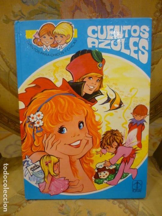 CUENTOS AZULES. TOMO 1. ILUSTRADO POR MARÍA PASCUAL. TORAY 1.982. (Libros de Segunda Mano - Literatura Infantil y Juvenil - Cuentos)