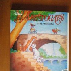 Libros de segunda mano: ELS ARISTOGATS * LOS ARISTOGATOS ** DISNEY ** EN CATALAN ** BEASCOA INTERNACIONAL ** MBE. Lote 143872310