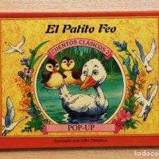 Libros de segunda mano: EL PATITO FEO. (COL. CUENTOS CLÁSICOS POP-UP) - PATIENCE, JOHN (ILUSTR). Lote 144131400