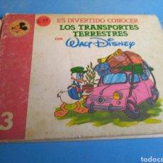 Libros de segunda mano: WALT DISNEY,ES DIVERTIDO CONOCER N'3 AÑO 1987. Lote 144330992