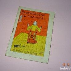 Libros de segunda mano: ANTIGUO *EL PROTECTOR DEL CONVENTO* DE CUENTOS DE LA NIÑEZ SERIE A Nº 37 DE EDITORIAL CARTEL DE VIGO. Lote 144408226