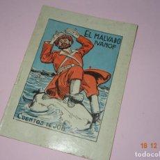 Libros de segunda mano: ANTIGUO * EL MALVADO IVANOF * DE CUENTOS DE JOB SERIE A Nº 27 DE INDUSTRIAS FARO VIGO. Lote 144409434