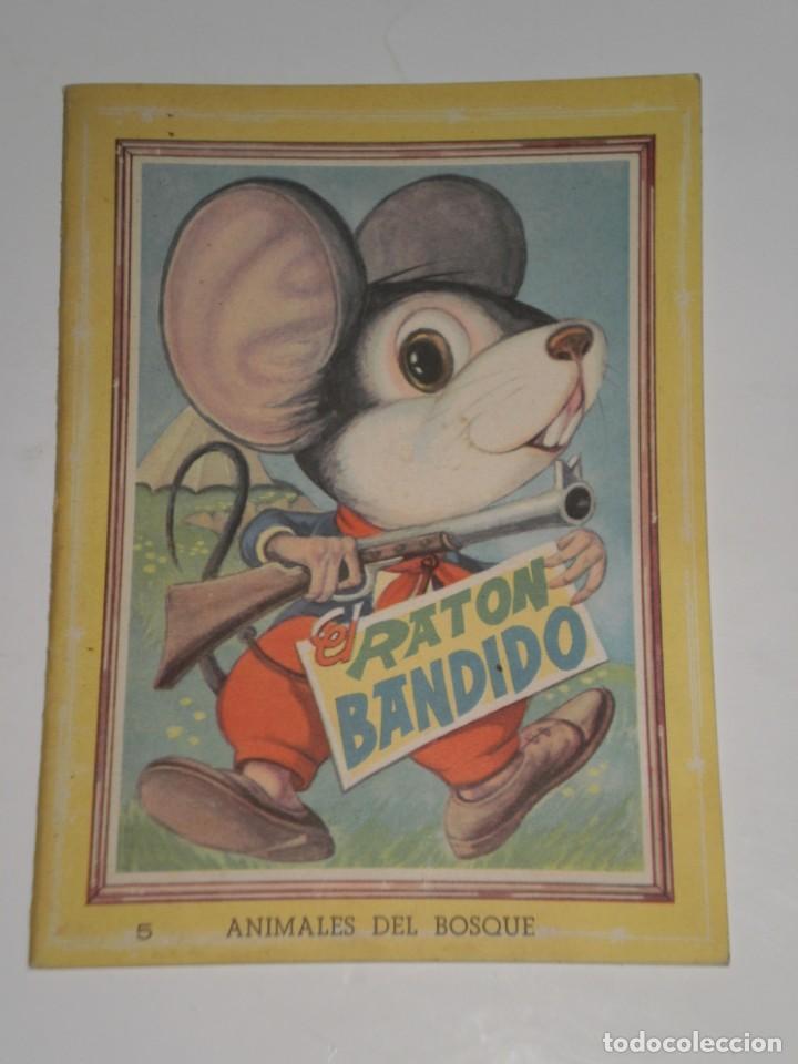 Cuento El Raton Bandido Nº 5 Con Actividades Para Pintaredit Vasco Americanabilbao1965