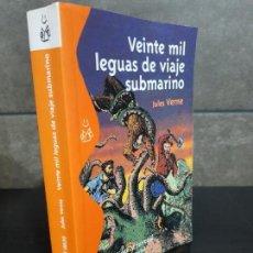 Libros de segunda mano: VEINTE MIL LEGUAS DE VIAJE SUBMARINO. JULES VERNE. . Lote 144650882