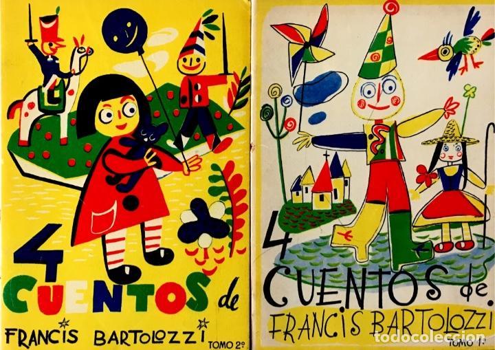 4 CUENTOS DE FRANCIS BARTOLOZZI. TOMOS 1 Y 2. (Libros de Segunda Mano - Literatura Infantil y Juvenil - Cuentos)