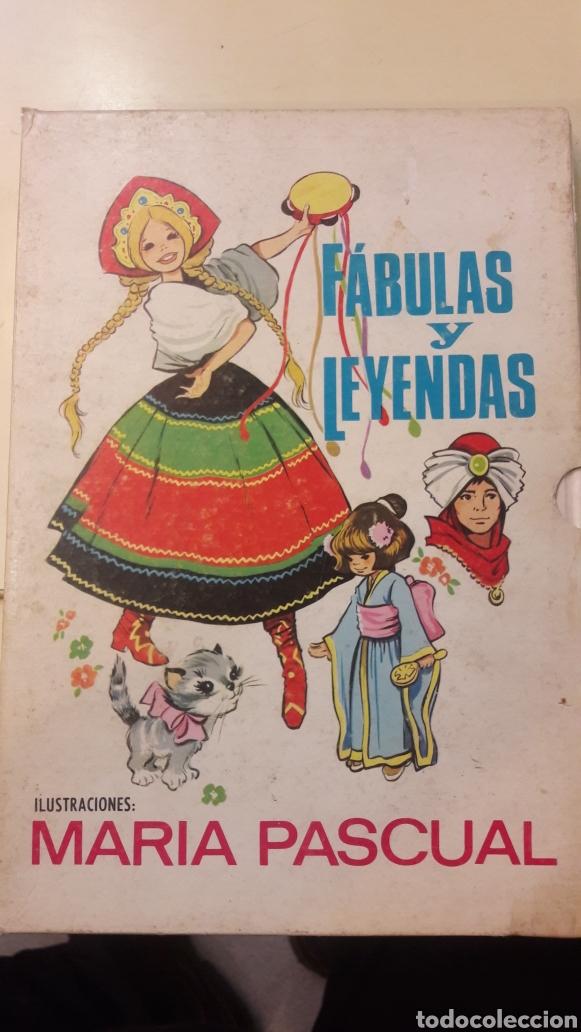 FABULAS Y LEYENDAS ILUSTRACIONES MARIA PASCUAL 2 EDICION 1971 (Libros de Segunda Mano - Literatura Infantil y Juvenil - Cuentos)