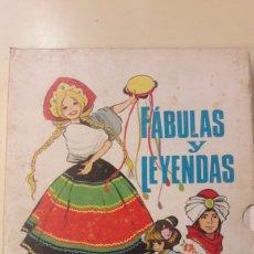 Libros de segunda mano: FABULAS Y LEYENDAS ILUSTRACIONES MARIA PASCUAL 2 EDICION 1971. Lote 145003272