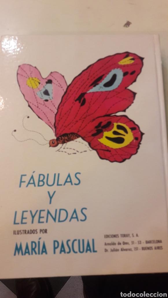 Libros de segunda mano: Fabulas y leyendas ilustraciones Maria Pascual 2 edicion 1971 - Foto 3 - 145003272