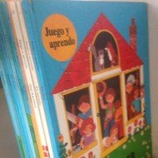 Libros de segunda mano: COLECCIÓN JUEGO Y APRENDO 1982 DEL 1 AL 12. Lote 145020273