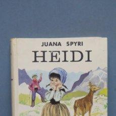 Libros de segunda mano: HEIDI. JUANA SPYRI. Lote 145121138