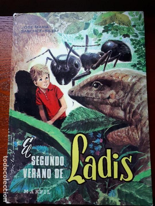 EL SEGUNDO VERANO DE LADIS - SÁNCHEZ-SILVA, JOSÉ MARÍA - ED. MARFIL - 1968 (Libros de Segunda Mano - Literatura Infantil y Juvenil - Cuentos)