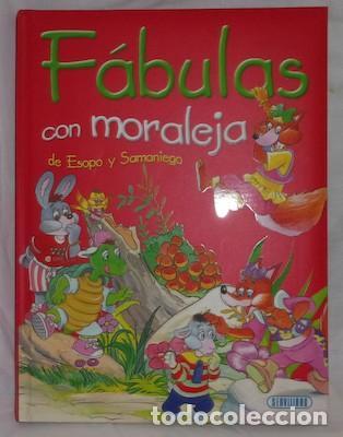 FÁBULAS CON MORALEJA DE ESOPO Y SAMANIEGO, ED. SERVILIBRO (Libros de Segunda Mano - Literatura Infantil y Juvenil - Cuentos)