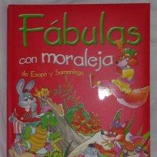 Libros de segunda mano: FÁBULAS CON MORALEJA DE ESOPO Y SAMANIEGO, ED. SERVILIBRO. Lote 145242778
