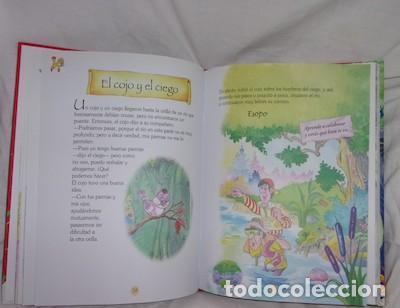 Libros de segunda mano: FÁBULAS CON MORALEJA DE ESOPO Y SAMANIEGO, ED. SERVILIBRO - Foto 2 - 145242778