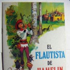 Libros de segunda mano: EL FLAUTISTA DE HAMELIN EDIT.CULTURA Y PROGRESO Nº 8 1979. Lote 145441226