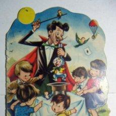 Libros de segunda mano: EL SOMBRERO MISTERIOSO CUENTOS INFANTILES TROQUELADOS EDICIONES TORAY 1961. Lote 145516322