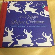 Livros em segunda mão: THE NIGHT BEFORE CHRISTMAS / C. CLARKE MOORE; A POP UP BY R. SABUDA. NEW YORK : LITTLE SIMON, 2002.. Lote 145546878