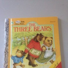 Libros de segunda mano: THE THREE BEARS. Lote 145552176