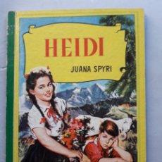 Libros de segunda mano: HEIDI. JUANA SPYRI. AÑO 1962.. Lote 145576978
